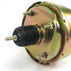 "7"" Single Diaphragm Zinc Power Brake Booster Universal Street Rod Chevy Ford"