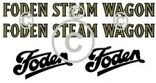 Mamod Foden Decals for steam wagon SW1   x 2+2 pieces. Mamod Spares and Parts.