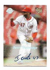 2008 Sweet Spot Johnny Cueto Rc Auto #30/50
