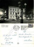 Cartolina di Perugia, piazza Italia - 1961