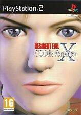 Resident evil code veronica x pour pal PS2 (new & sealed)