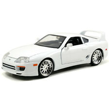 1/24 Jada Fast & Furious Brian's Toyota Supra Diecast Model Car 97375 White