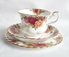 Royal Albert Old Country Roses TRIO-Tazza da tè e piattino e tè PIASTRA-VINTAGE