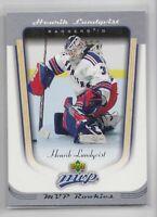 2005-06 UD MVP Henrik Lundqvist Rookie RC