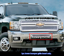 Chevy Silverado 2500HD/3500HD Stainless Steel Bumper Mesh Grille Grill 2011-2014