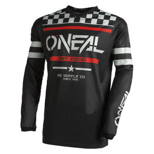 O'Neal 2022 Element Squadron Jersey – Black//Gray - Motocross, Off-Road