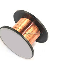 New 2 x roll Enameled wire Thin copper wire Welding line 0.1MM Length about 11M