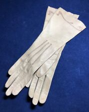 Antique Vintage Unworn Young Ladies French Leather Gloves Art Nouveau
