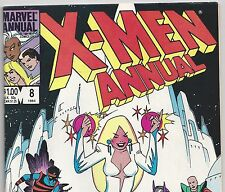 The X-MEN ANNUAL #8 Wolverine, Nightcrawler, Kitty Pryde 1984 in F/VF Con. DM
