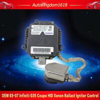 OEM 03-07 Infiniti G35 Coupe HID Xenon Headlight Ballast Igniter Control Unit