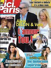 ICI PARIS N°3720 19 OCTOBRE 2016  DELON/ FERRI/ JANNOT/ MILOT/ SHEILA/ NICOLETTA