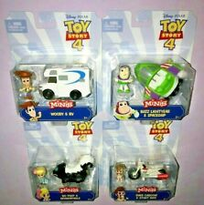 Toy Story 4 Mini Figures & Vehicle Set of 4 **NEW RELEASE**