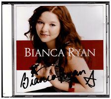 Bianca Ryan - Bianca Ryan CD Autogramm