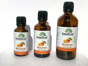 Mandrine Essential Oils 100% PURE-Natural Oil Aromatherapy 10ml 20ml 50ml 100ml
