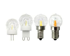 G4/G9/E12/E14 Gemlamp K9 Glass LED Bulb 1505 COB 110V/220V 3W Crystal Light Y