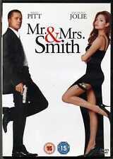 Mr. & Mrs. Smith - Brad Pitt Angelina Jolie PAL Region 2 DVD