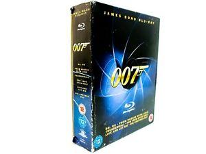 🔫 007: James Bond 🔫 Collector's Edition BoxSet Blu-ray - 6 Discs w/ SlipCover