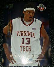 2008-09 UPPER DECK DERON WASHINGTON DETROIT PISTONS NBA ROOKIE TRADING CARD #243