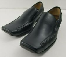 Boss Anjerasu, black leather loafers, size 39. new w/o tag