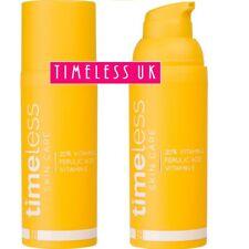 NEW Timeless 20% Vitamin C+E Ferulic Acid serum in Airless Pump Bottle 1st IN UK