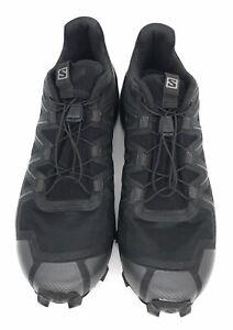 Salomon Women's Speedcross 5 Trail Running Shoe, Black/Black/Phantom, 10.5 US