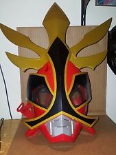 Power Rangers Samurai Shogun Play Costume Kid Helmet Electronic Mask Bandai 2012