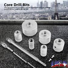 10pcs Tct Diamond Core Drill Bit Core Bore Can Concrete Hard Material 35 110mm