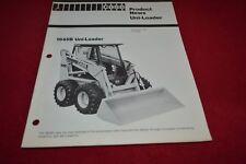Case Tractor 1845 Skid Steer Loader Dealer's Brochure YABE14