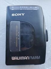 Sony Walkman WM FX10 Personal Cassette Player AM FM Radio Stereo
