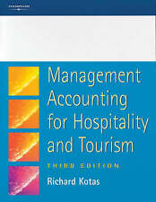 Management Accounting for Hospitality and Tourism 9781861524904 by Richard Kotas