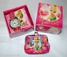 FABULOUS CHILDRENS TINKERBELL WATCH &  PURSE SET NEW