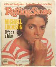 MICHAEL JACKSON ROLLING STONE MAGAZINE ISSUE 389 RAY MANCINI FEBRUARY 17 1983!!