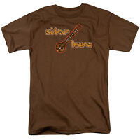 SITAR HERO Humorous Adult T-Shirt All Sizes