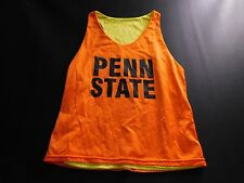 Penn State Mens T Shirt Size M Medium Bright Yellow & Orange Work Out Sleeveless