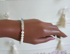 Handgefertigte natürliche Armbänder mit Edelsteinen im Kette-Stil