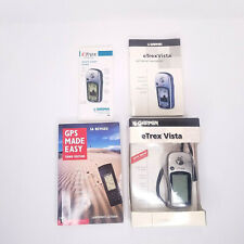 Garmin eTrex Vista Handheld GPS Hiking Camping Bundle