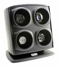 Versa Quad Watch Winder in Black - Independently Controlled Settings - Multip...