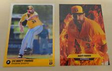 2018/19 Matt Timms Baseball Cards Brisbane Bandits Australian Baseball League