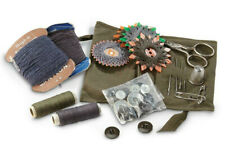 German Military Surplus Item Army Men Field Sewing repair kit set FREE SHIPPING