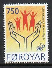 Faroe Islands MNH 1998 The 50th Anniversary of Human Rights