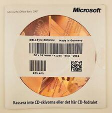 Microsoft Office 2007 Basic OEM CD mit Datenträger Vollversion schwedisch