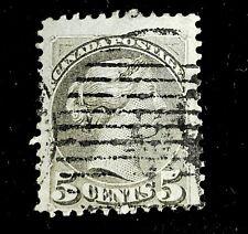1868 Canada Stamp 42 Queen Victoria! CV $5.25