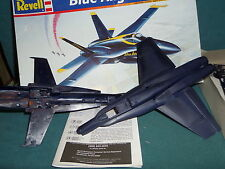MODEL KIT REVELL BLUE ANGELS F-18 HORNET PLASTIC MODEL