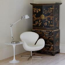 Tavolino caffè design saarinen tulip piano marmo bianco venato diametro 50 cm