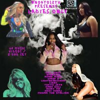 Ladies Only #No8to12TV DVD .. over 50 Videos from hottest femcees..2 Disc set