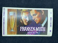 FRANKEN MUTH Beer Label Pittsburgh, PA Brewing Company 12 oz. Purple Version