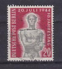 Berlin 1954 gestempelt MiNr. 119  10.Jahrestag des Attentats 20. Juli 1944  (5)