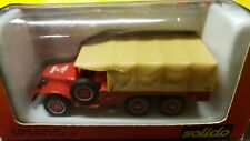 SOLIDO TONER GAM I Dodge Pompiers No. 2105 Metal Diecast Vehicle 6 X 6 T223 WC63