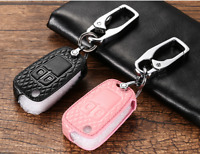 For Chevrolet Holden trax Car remote key case holder cover fob Pink Color 2 key