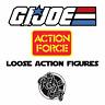 Vtg GI Joe & Action Force Loose Action Figures Hasbro Palitoy 80s 90s 00s